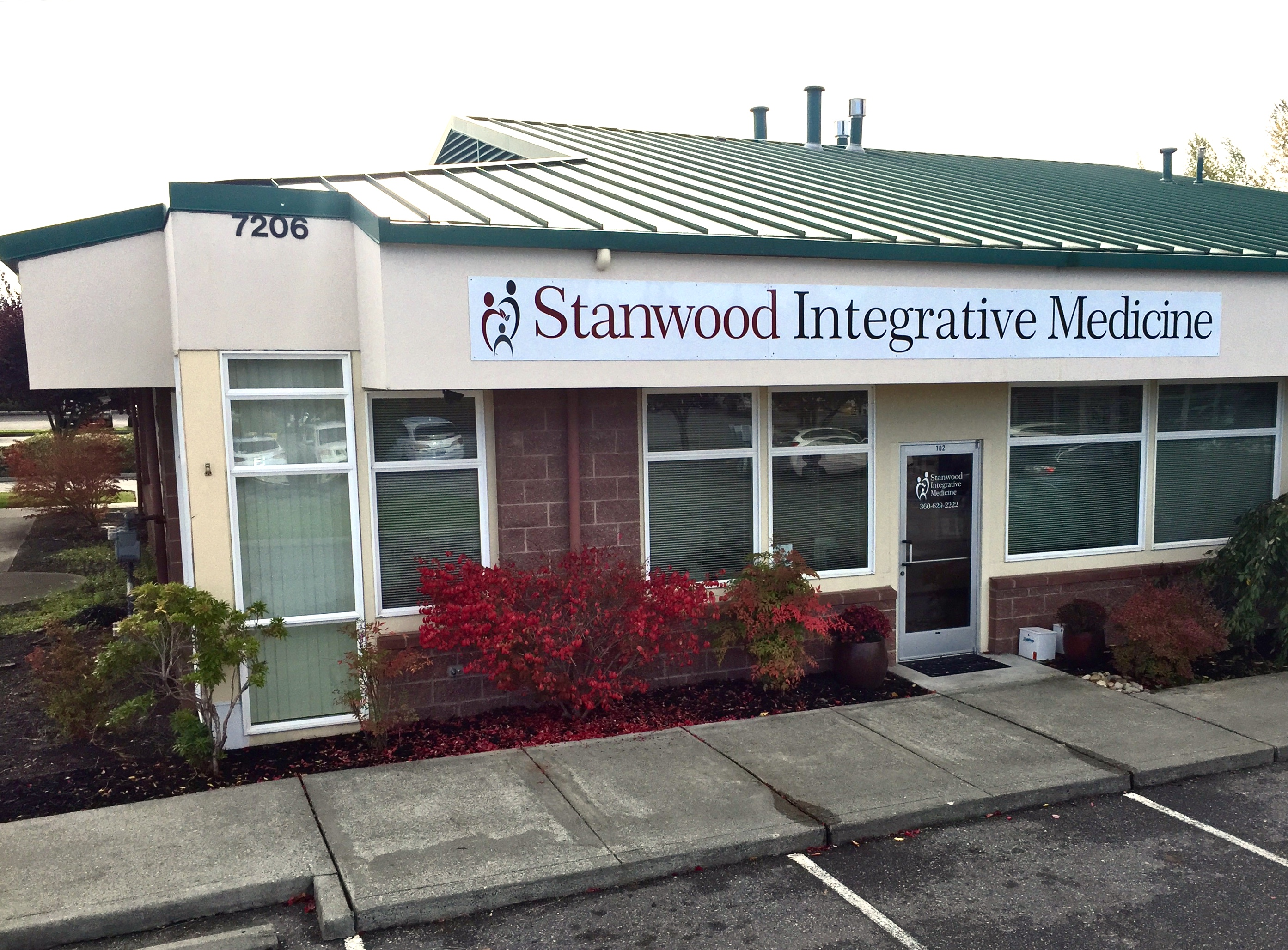 Stanwood Integrative Medicine Front Entrance
