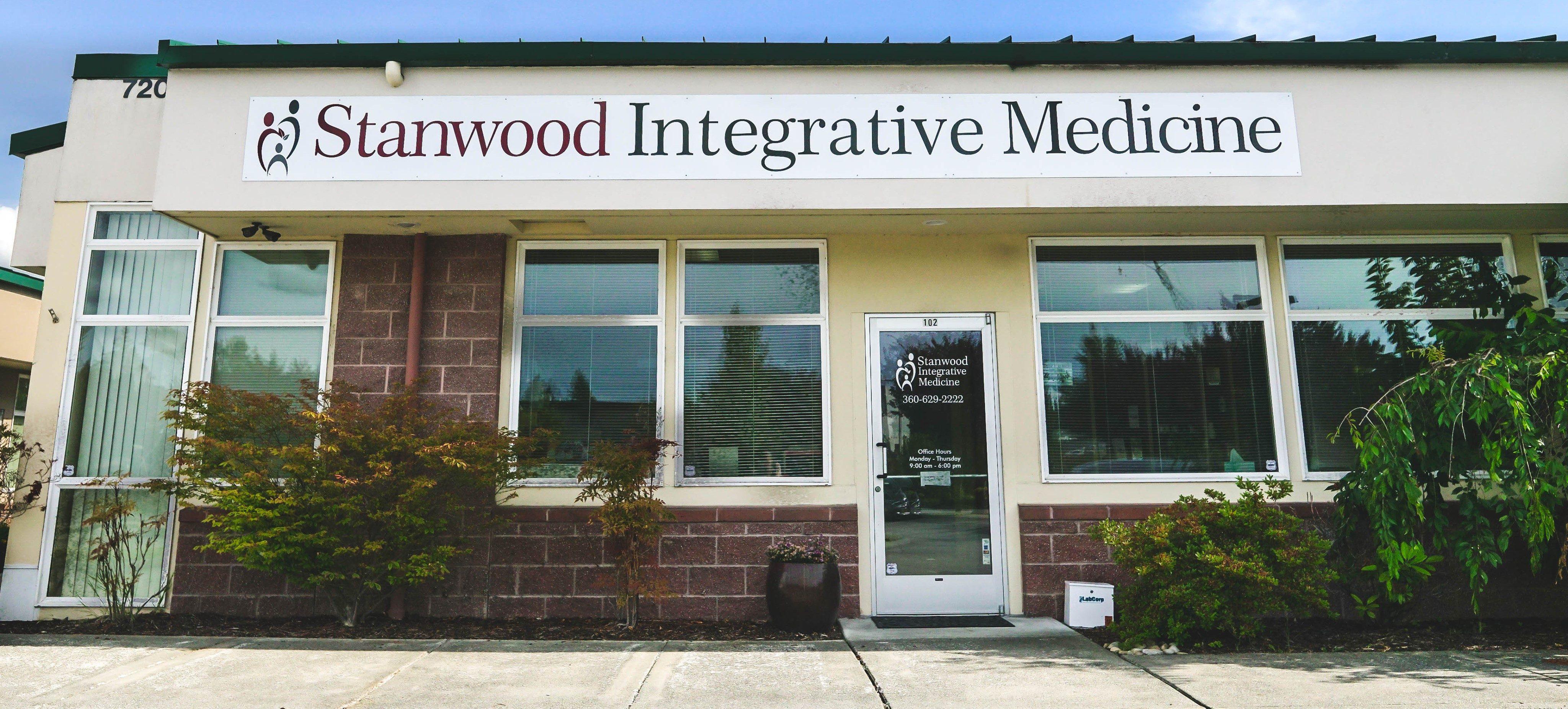 Stanwood Integrative Medicine front of building